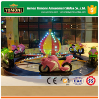 Indoor/shopping mall kids rides electric amusement rotating motorcycle games for sale