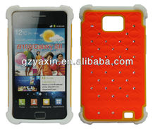 hard shell case for samsung galaxy s2,back case for samsung galaxy s2,color case for samsung galaxy s2