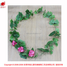 Romantic artificial ivy fence ivy vines wall decorative artificial flower garland