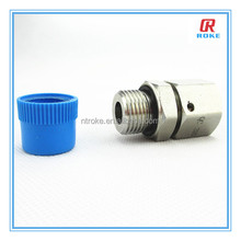 NPT thread connector live nut stainless steel 316 reducing pipe fitting