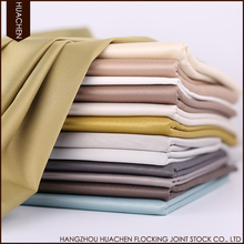 New design hot selling high quality satin blackout drapery fabrics