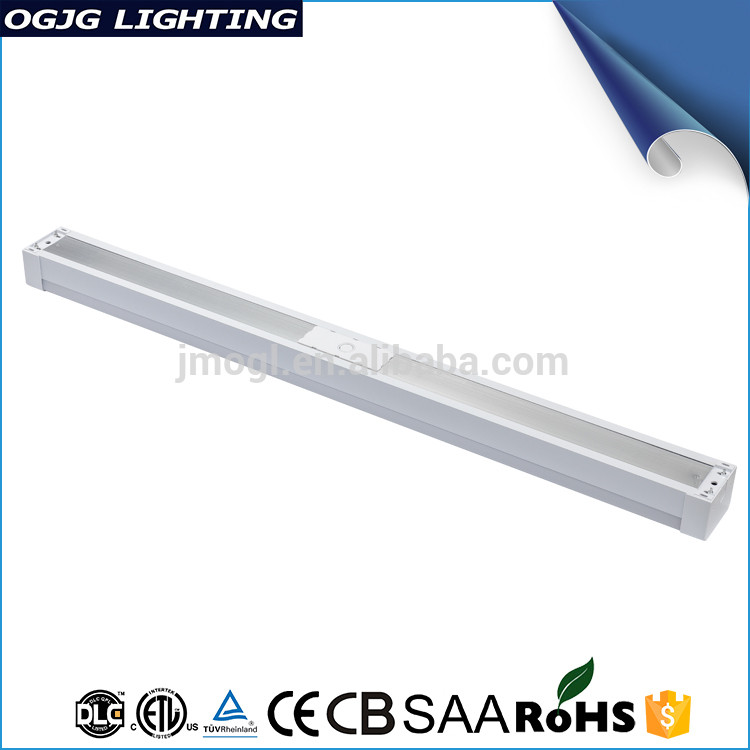 ETL DLC Approval Mocro Wave Motion Sensor 4Ft 8Ft Ceiling Indoor Pendant Linear Batten Led Light Fixture