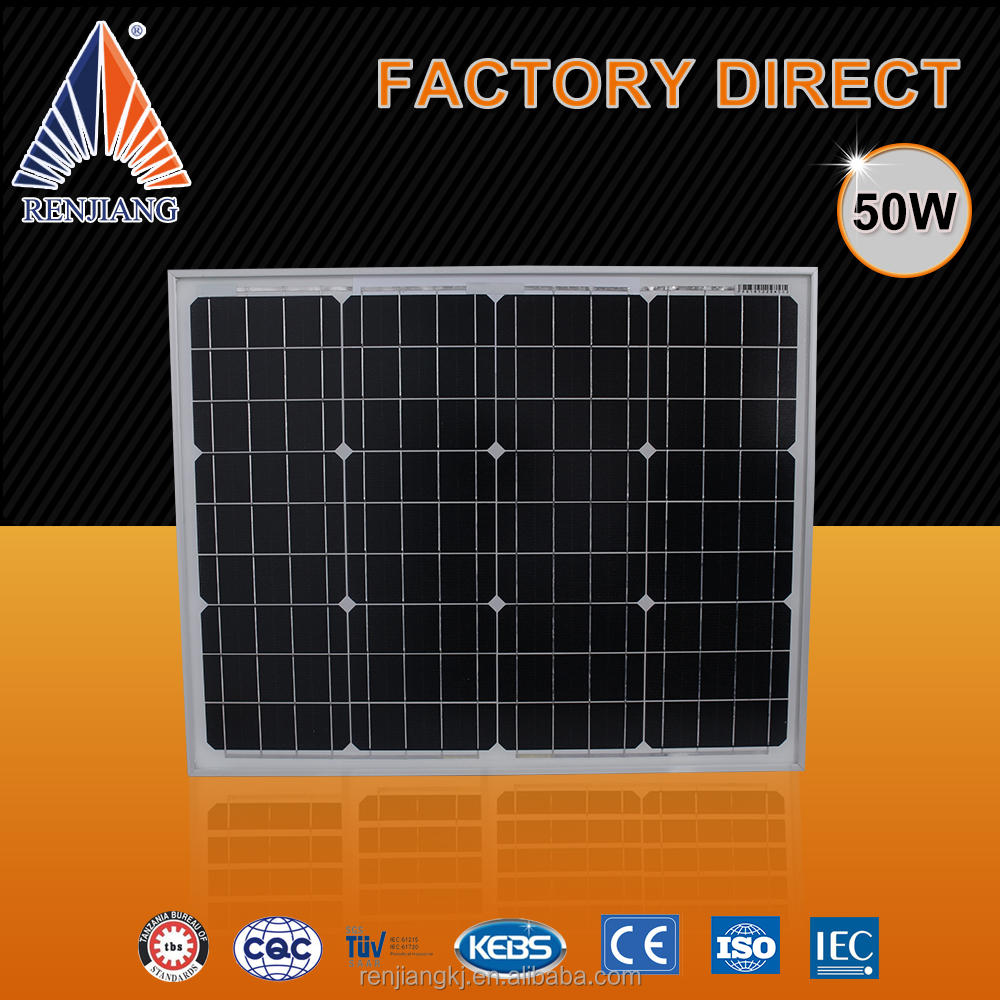 Competitive Prices 50W Solar System Panels For Street Light