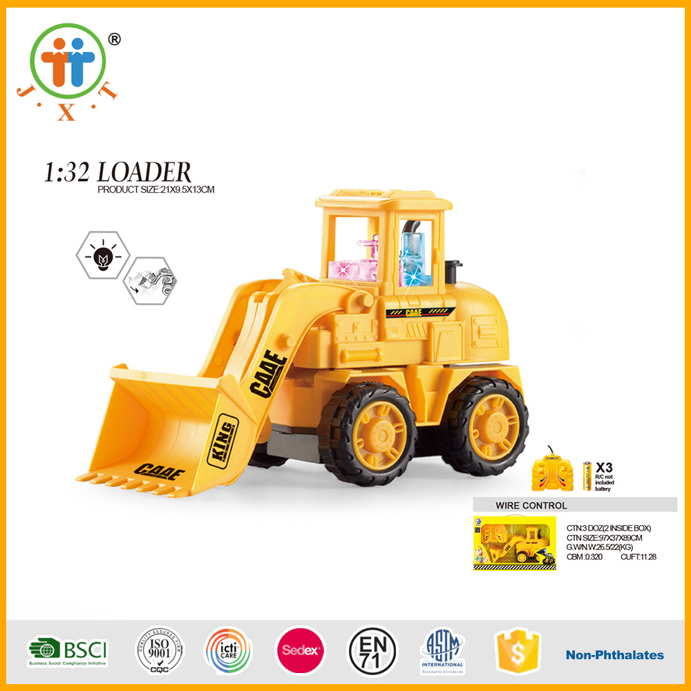 1:32 line control construction loader RC Toy Trucks Model for Kidz