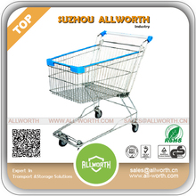shopping trolley Retail Supermarket Shopping Trolley with Coin Lock