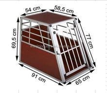 Big Single Aluminium Dog Travel Carrier Cage
