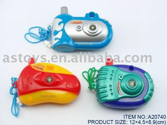 Promotional toy (camera water gun)
