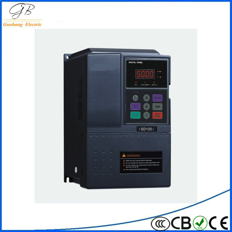 Hot sale 11kw single phase 50Hz mini type AC frequency inverter / converter