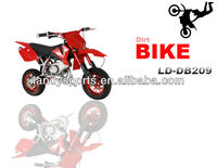 EPA 50cc mini kids gas dirt bike bicycle for sale cheap(LD-DB209)