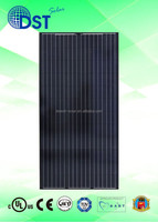 Solar Power Energy 290W 300W 310W 320W 72 cells TUV/MCS/UL/CEC/JET Taiwan 300 w watts Black Poly Solar Panel Solar Module