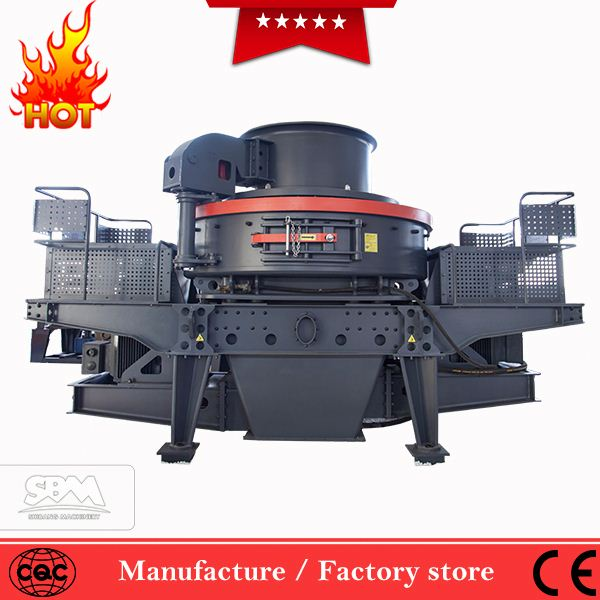 Low consumption sand mine ore mobile crusher, vsi for quartz