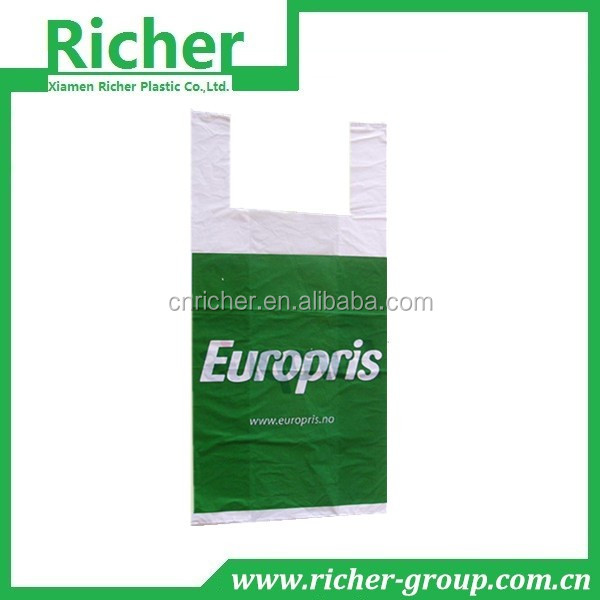 Multicolored All Kinds of Pictures Printing Shopping Plastic Bag