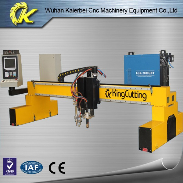 Good automatic working gantry low cost cnc plasma cutting machine