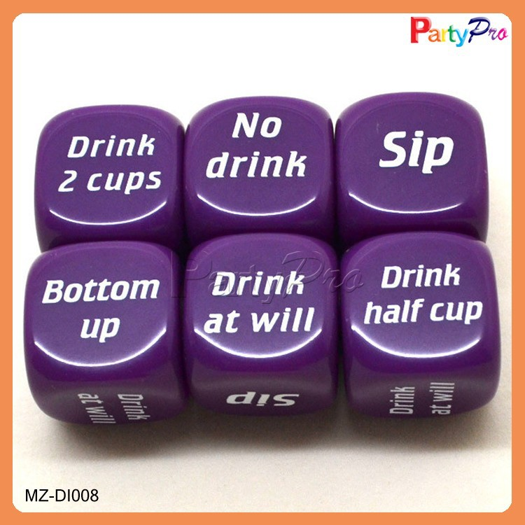 2015 Hot Sale Best Quality Acrylic Dice Factory Dice Machine Sex Dice Games