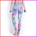 high quality Polyester Spandex women yoga sports pants