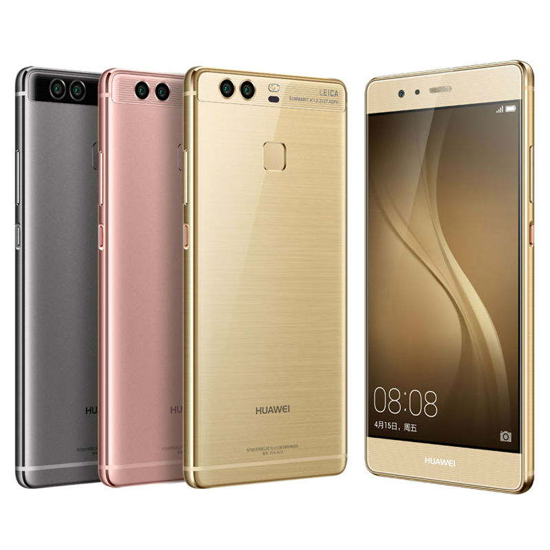 "Original HuaWei P9 Mobile phone Kirin 955 Android 6.0 5.2"" FHD 1080P 4GB RAM 64GB ROM Dual Back 12.0MP Camera 4G LTE Cell Phone"