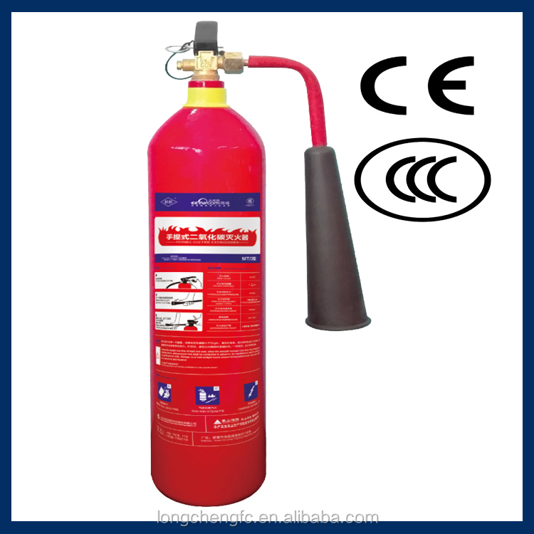 Efficient portable type CO2 fire extinguisher warehose
