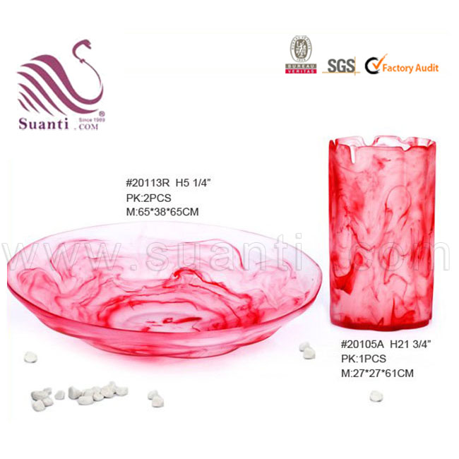 Resin homeware cold food plates, decorating food plates