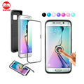 AAA Quality Mobile Phone 2 in 1 Safety 3D Curved 360 FULL Coverage TPU Case For Samsung Galaxy S6 Edge Plus