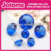 sapphire noble transparent acrylic crystal clear rhinestone