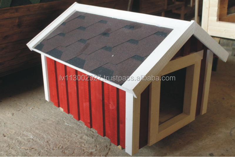 Dog house, wooden house
