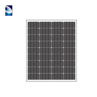 Best Price 80w Off Grid Solar Kit 80wp 80watts Solar Panels DC 12V Battery Charger