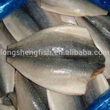 New Coming Natural Frozen Seafood Landfrozen Pacific Mackerel Butterfly Fillets