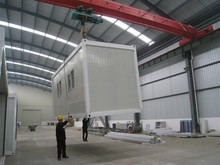 20ft 40ft prefabricated modular container site office/sandwich panel office container