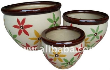 Flower pot, home decor ceramic pots, the cheap price, bonsai pot