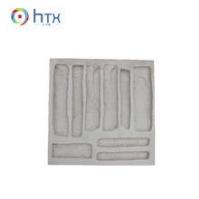 Wholesale Henan HTX Interior Wall Stone Decorations Path Walkway Silicone Molds For Stone