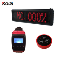 Waiter Restaurant Wireless Ordering System Electronic Call Bell Pager For Restaurant