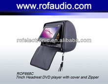 Headrest Car DVD with ZIP + SONY Loader + for any car