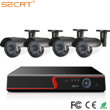2017 Newest Products 1080P surveillance kits 4 channel dvr system support 4 cameras can be 4ch cctv security system