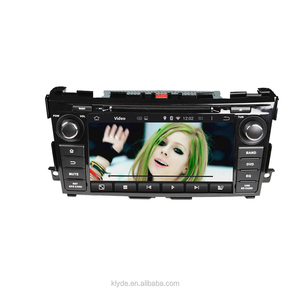 High quality in-dash 2 din 8 inch HD touch screen Android 5.1.1 car dvd player with gps radio for Tenna / Altima 2013-2014