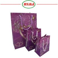 Good price factory offer promotional gift tote grocery pp plastic woven bag custom printed plastic gift bag