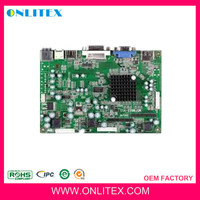 oem smt components pcb assembly factory,monitor pcb assembly ,monitor pcba