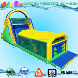70ft long 18oz giant inflatable obstacle course,adult inflatable obstacle course,inflatable obstacle course