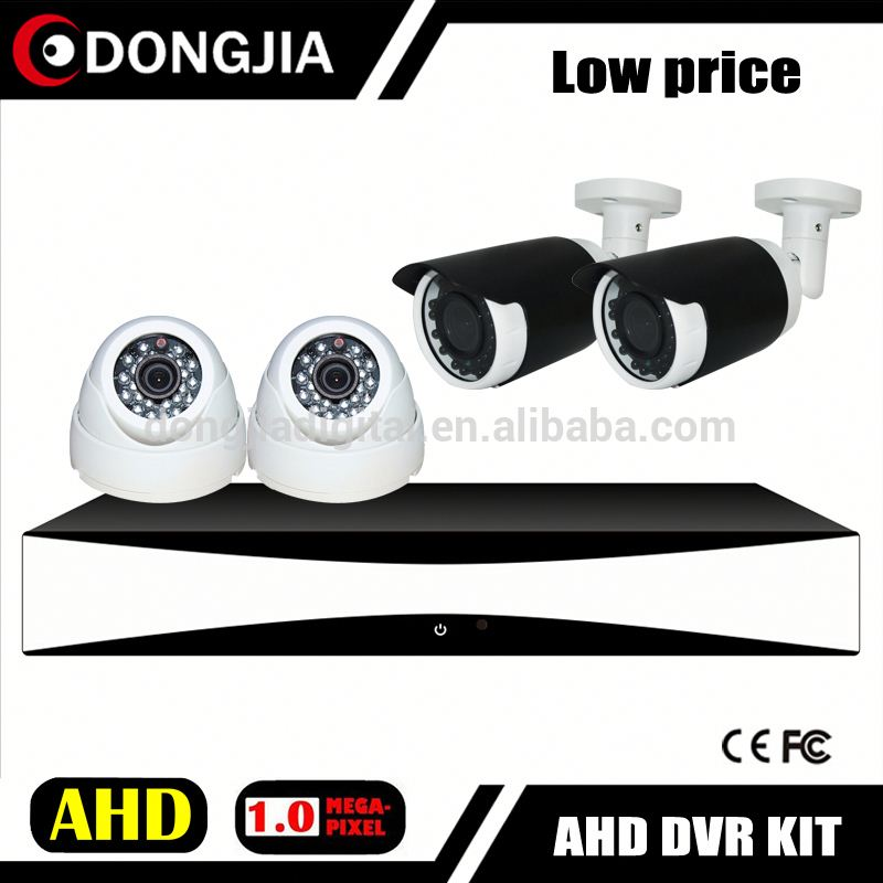 Analog HD IR Dome outdoor bullet DVR kit h.264 standalone network dvr with camera kit