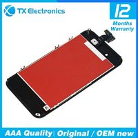 Wholesale unlocked for iphone,lcd with digitizer for iphone 4 assembly replacement