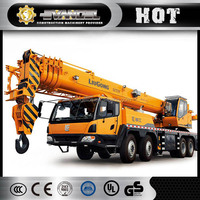 Liugong p&h 20 ton crane TC200 pickup truck crane with cable winch