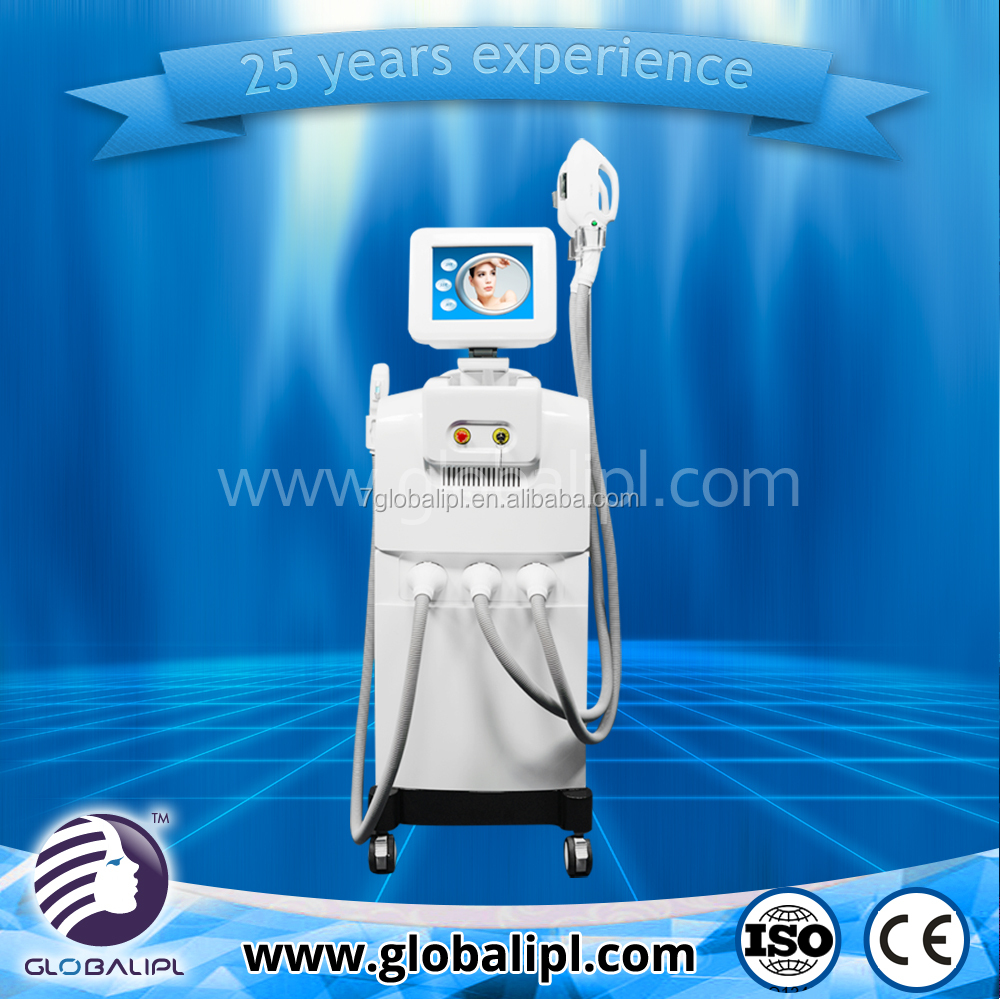 New technology no pain skin care anti acne machine and hair removalbeauty equipment fda approved 2016 for hair removal