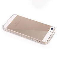 Customized hot sell back cover soft cases for iphone5