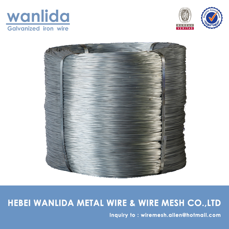 China Supplier Annealed Galvanised Woven Wire ( 2.5 mm )