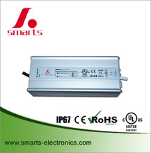 single output led drivers 12v 90w constant voltage IP67 led power supply