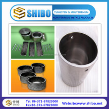 Min 99.95% pure molybdenum crucible Best price of Molybdenum forging crucibles