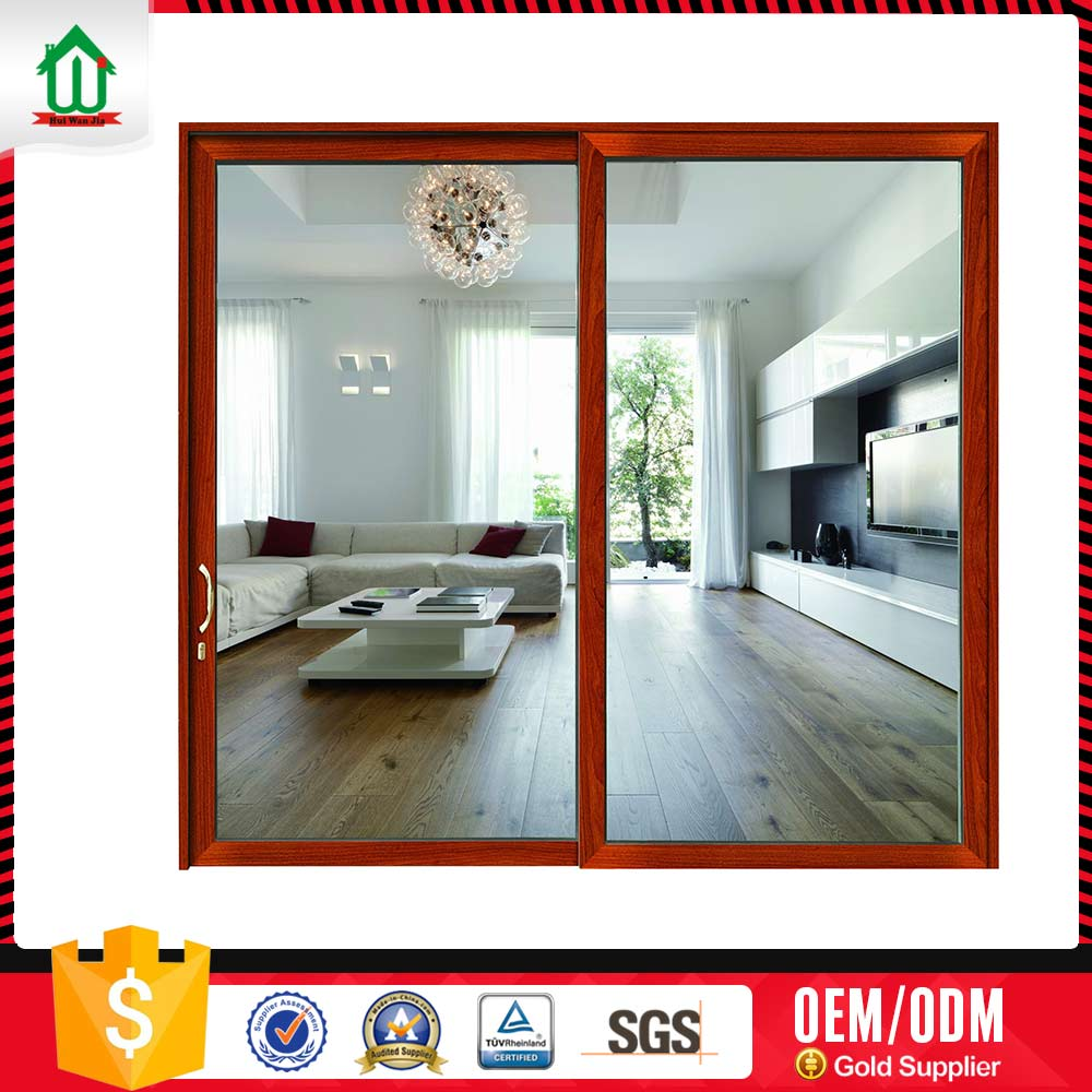 Trendy Foshan Double Leaf Glass Door