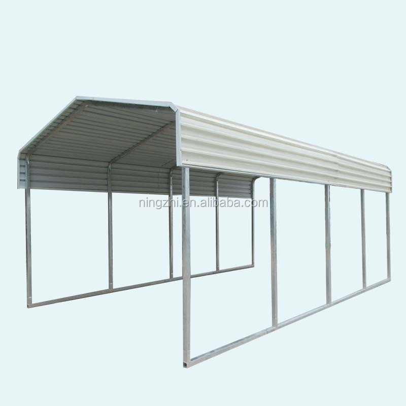 3.3*6m metal car parking canopy