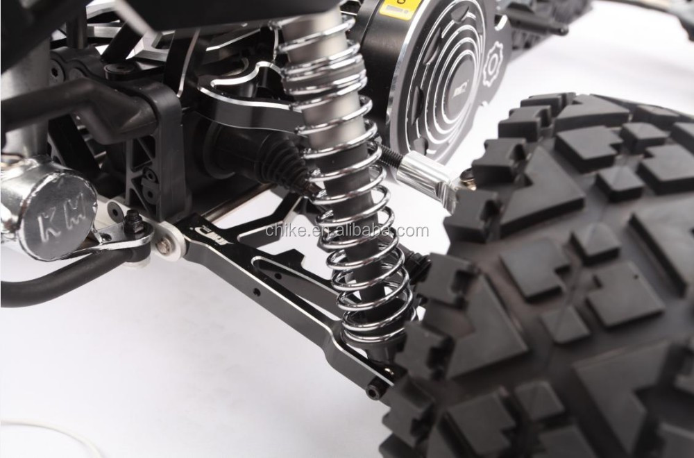 1/5 Scale 30.5cc CNC Alloy Baja 5B + 2.4G + Tunepipe- Dark Knight Version