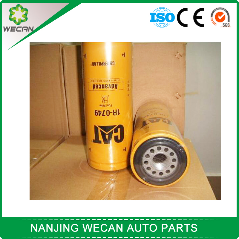 car lubriction system oil filter fuel filter 1R-0749 with oem quality