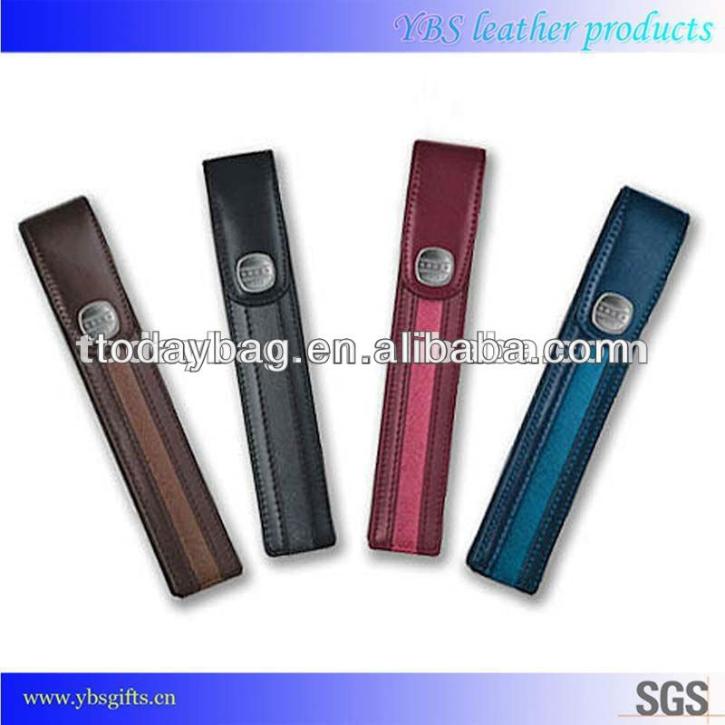 synthetic pu leather pen holder,school stationery set